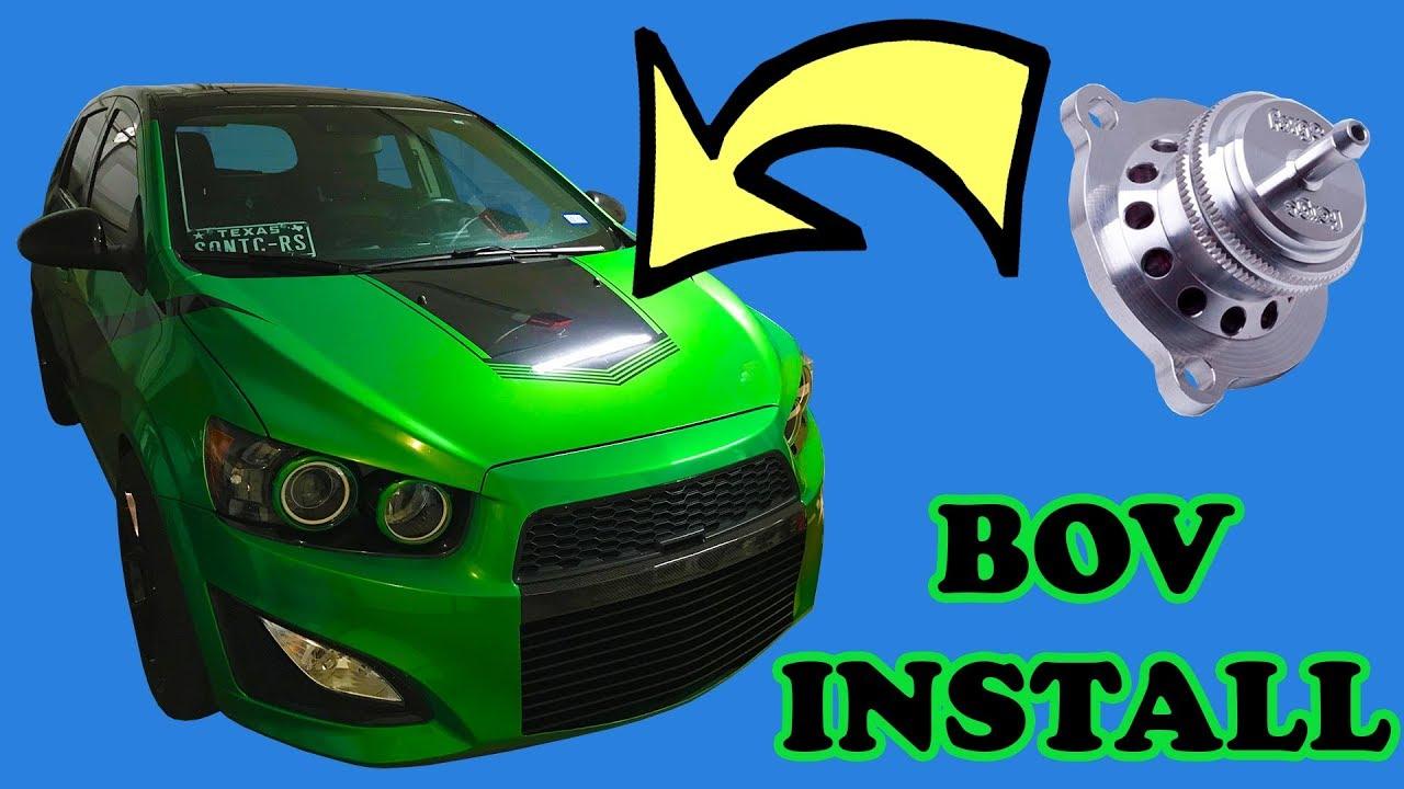 Chevy Sonic BOV Install (Atmospheric Bypass Valve)