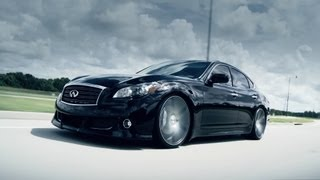 "Infiniti M37 | Q70 on 22"" Vossen VVS-CV3 Concave Wheels / Rims"