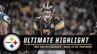 Ben Roethlisberger named AFC Offensive Player of the Week | Pittsburgh Steelers