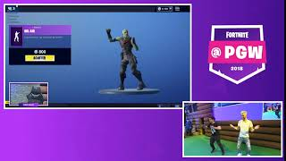#PGW: LeBouseuh dance Bel Air fortnite