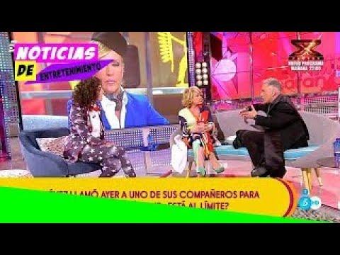 [HD] La marcha en directo de una histórica de Sálvame quema Telecinco: