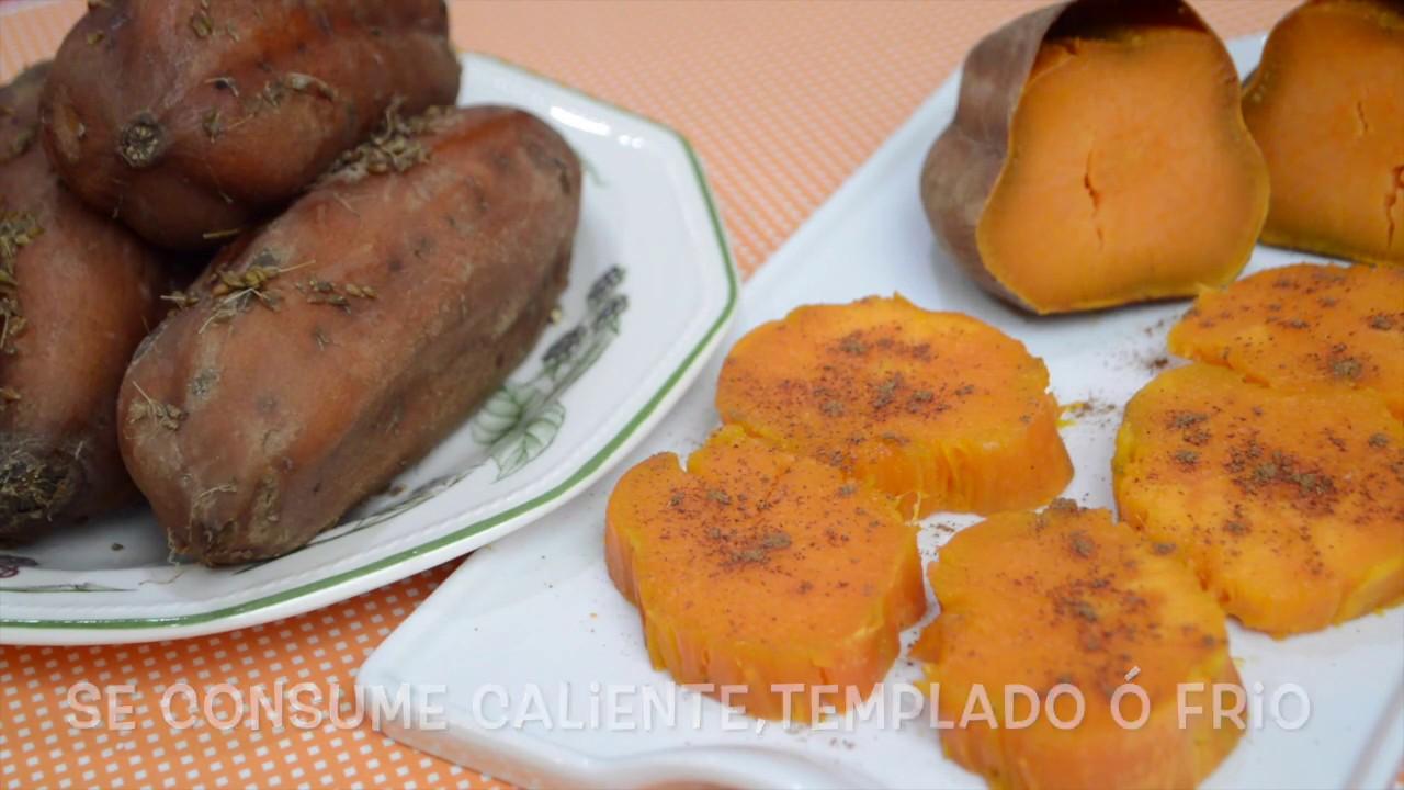 3 RECETAS DE BONIATO Ó BATATA,Fácil Y Deliciosa