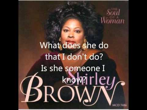 Shirley Brown Who is Betty?+Lyrics