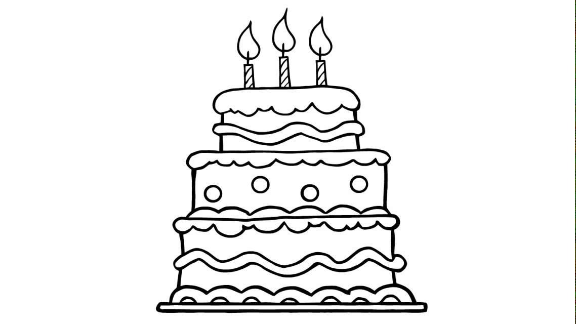 Come disegnare una bella torta di compleanno youtube for Disegni di 2 piani