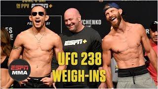 Best of UFC 238 Ceremonial Weigh-Ins | ESPN MMA
