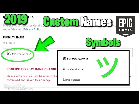 How To Get CUSTOM Username FONTS In Fortnite (Rare Text, Slanted Smiley Face And More..) | 2019