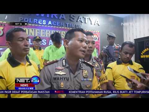 Polisi Gagalkan Peredaran 28 Kilogram Sabu di Aceh NET24