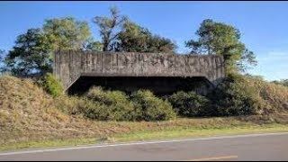 WWII target practice bunker brooksville army airfield