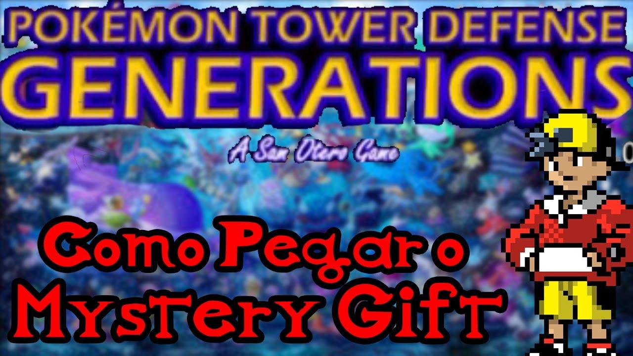 Pokemon center ptd 2 trading center - Como Pegar Seu Mystery Gift No Pok Mon Tower Defence 2 E 3 Pok Mon Tower Defence 1