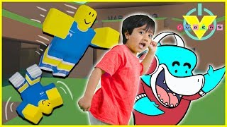 Roblox Parkour Tag Let's Play with Ryan ToysReview Vs. Big Gil