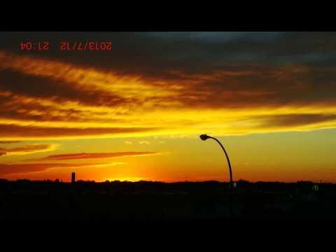 2013-07-12 Regina today (Sunset, Twilight, Dusk) the living sky. w/ Gene