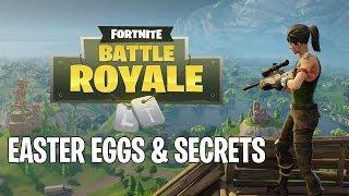 5 oeufs de Pâques - Secrets dans Fortnite Battle Royale