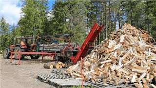Amazing Homemade Firewood Processing Machines Compilation, The Most Awesome Homemade Log Splitters