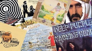 Discography Of 20 Classic Rock Artists - Which Stack Would You Choose?