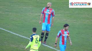 CATANIA 3-0 CASERTANA: book fotografico stadio Massimino