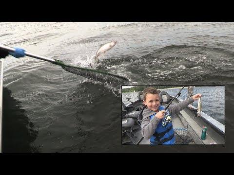 Columbia River Buoy 10 Salmon Fishing & Pike Minnow Reward Program 2017