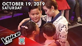 LIVE: The Voice Kids DigiTV | October 19, 2019