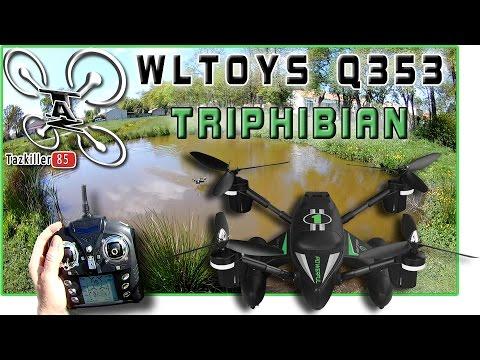 Q353 TRIPHIBIAN Review, Test, Démo / AIR, TERRE, EAU ! EXCELLENTISSIME !