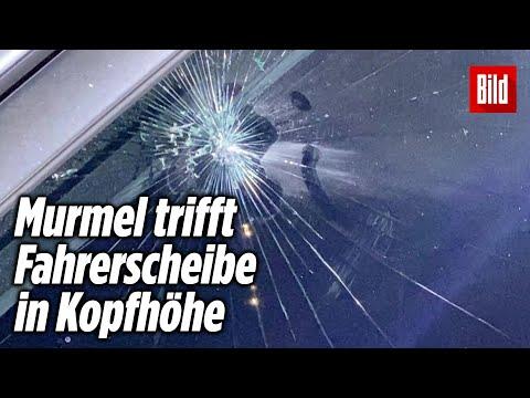 Angreifer schießen mit Zwille auf Polizeiauto | Hamburg