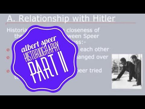 Albert Speer Historiography - Pt II