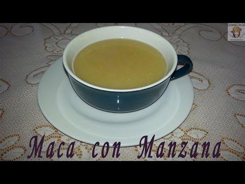 MACA CON MANZANA - DESAYUNO NUTRITIVO