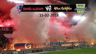 Ultras Górnik Zabrze - Arka Gdynia | 15-12-2018 | Pyroshow| Choreo | poland