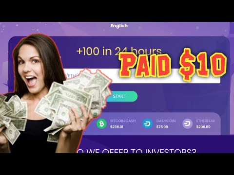 GOT PAID $10 PROOF FROM CRYPTO-UFO +100% DOUBLER PAYOUT