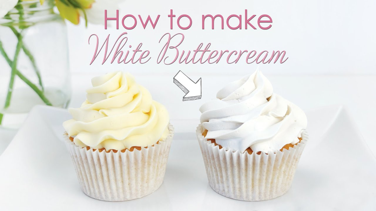 Download How to make your Buttercream Frosting White - Cake Decorating Tutorial