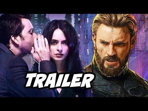 Jessica Jones Season 2 Trailer and Avengers Easter Eggs