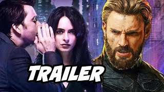 Jessica Jones Season 2 Trailer and Avengers Easter Eggs