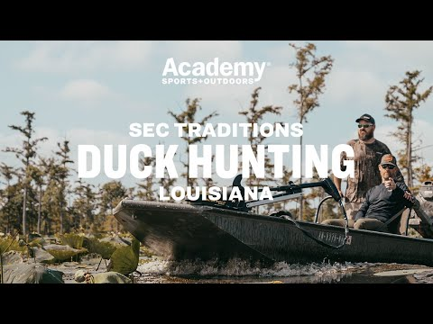 SEC Traditions   Duck Hunting in Louisiana with Marty Smith