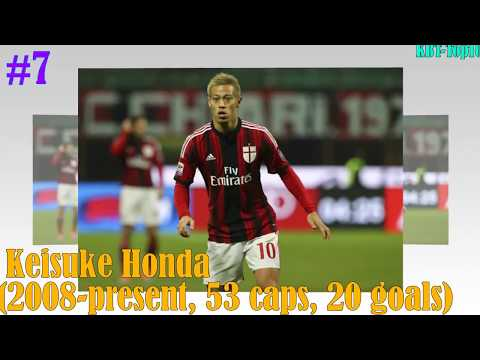 Top 10 Japanese footballers of all time