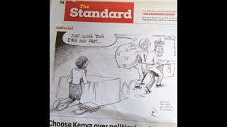 LET'S PRAY: Why Cartoonist Gado is rubbing top politicians the wrong way