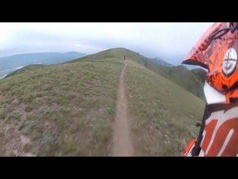 South Skyline Trail Over North Ogden, Utah (Dirt Bikes)