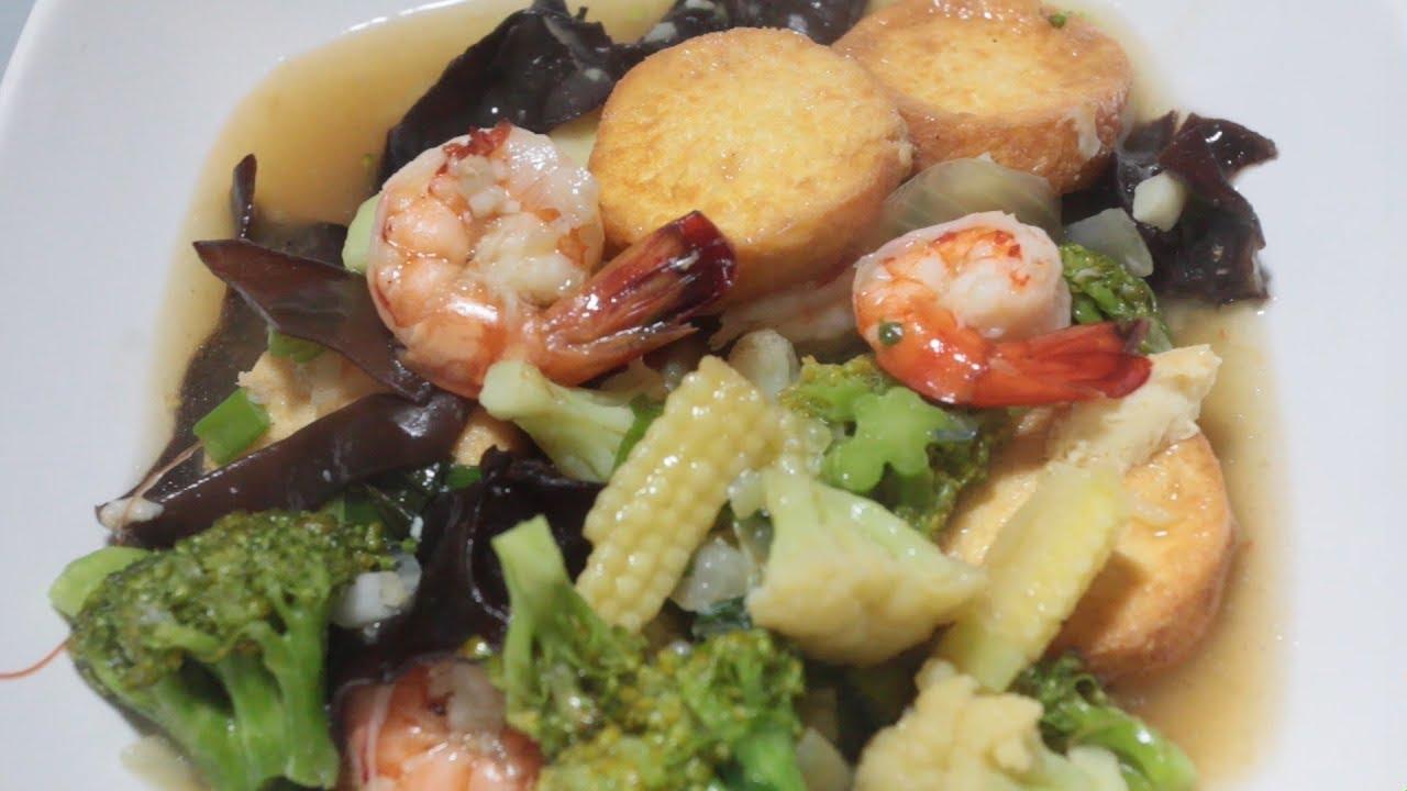 Resep Sapo Tahu Seafood Youtube