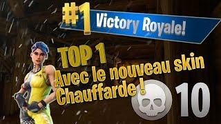 TOP 1 WITH THE NEW SKIN CHAUFFARDE SOLO! (FORTNITE FR!!)