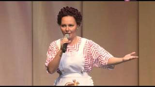 Екатерина Варнава показала алматинцам стриптиз