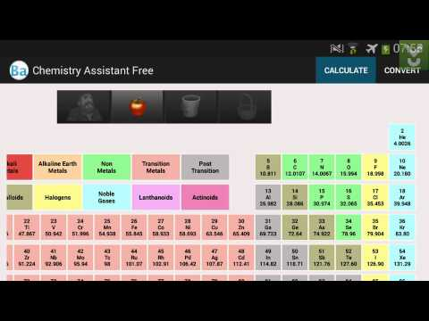Chemistry Assistant Free (Periodic Table) - Get Help In Chemistry - Download Video Previews