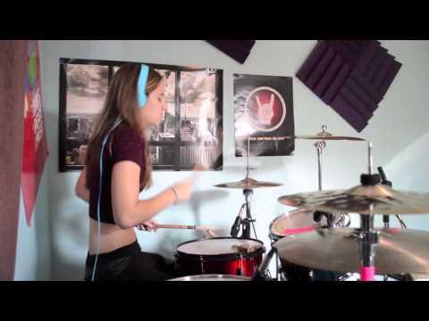 Anastasia – Slash (drum cover)
