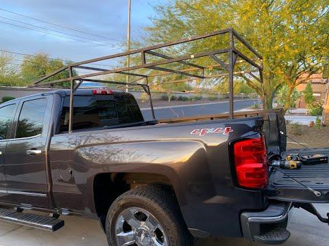 Building a CUSTOM TRUCK BED RACK - Part 1