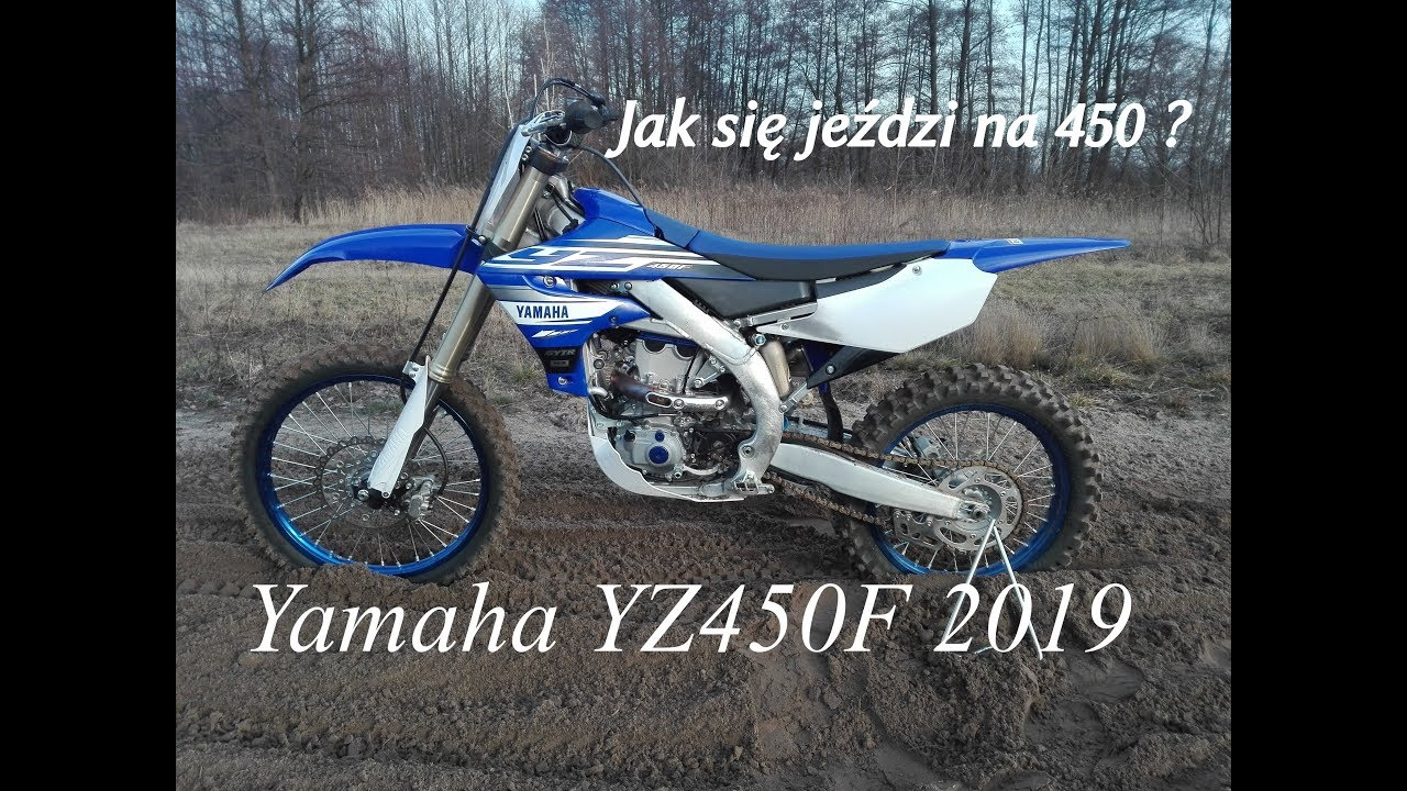 My first impressions about new Yamaha YZ450F 2019