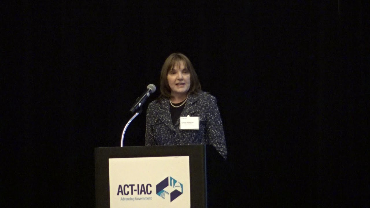 Cheryl Waldrup, Vice President for Federal Capture, General Dynamics  Information Technology