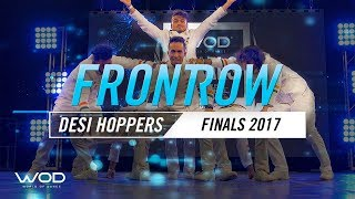 vuclip Desi Hoppers | FrontRow | World of Dance Finals 2017 | #WODFINALS17