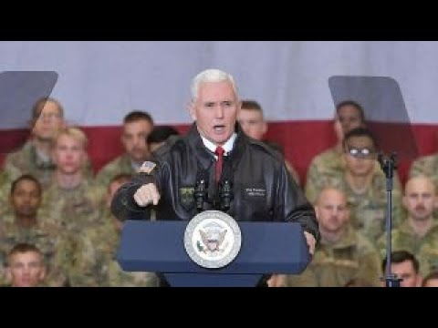 Vice President Pence Makes Surprise Visit To Afghanistan