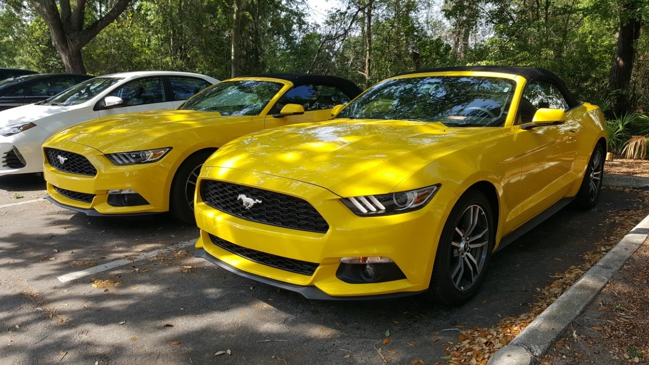 2017 Ford Mustang 2 3 Turbo Convertible Car R Review