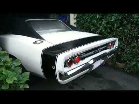 Dodge Charger 1968 440ci cold start - Fabulous sound