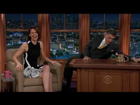 Lauren Cohan - gorgeous and funny - Ferguson interview - March 2014