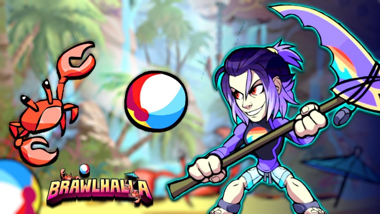 HUGE SUMMER UPDATE 1v1s With NEW SKINS Brawlhalla Gameplay YouTube
