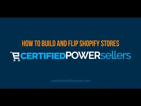 NEW E-commerce Method Flipping Shopify E-Stores