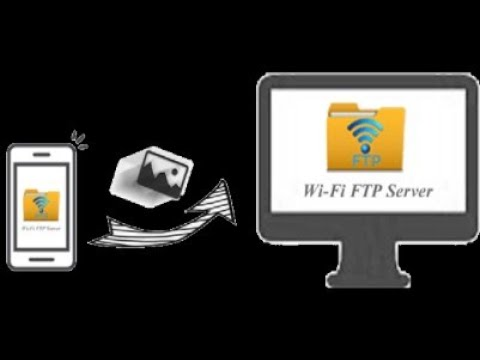 FTP  копирование файлов с андроида на пк и наоборот через Wi-fi
